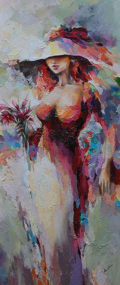 """art-and-dream: """" Art painting wonderful style by Elena Filatov in Bad Oeynhausen und ist als selbständige Designerin und Illustratorin tätig. Gelernte Techniken: Öl, Pastell, Gouache, Aquarell, … """""""