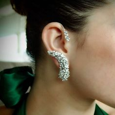 Apostrophe Diamond Right Ear Cuff