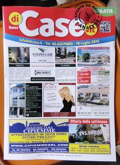 #immobilier EXPERTS DU NEUF vous présente le style des journaux gratuits… De Rome ! Peu d' #immobilierneuf…