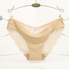 a7e1ff0a0f ELENXS - Women Ladies Lace Underwear Seamless Panties Sexy Knickers Ladies  Comfort Cotton Briefs Triangle thong - Walmart.com