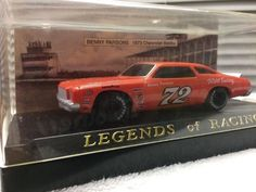 Legends Of Racing 1973 Chevy Laguna, #72 Benny Parsons Stock Car 1/43 1992  #LegendsOfRacing #Chevrolet