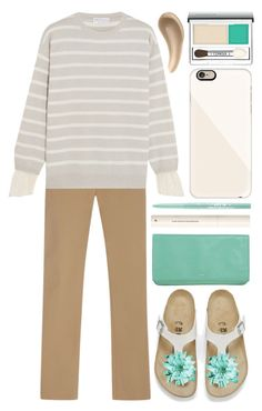 """""""fugly"""" by foundlostme ❤ liked on Polyvore featuring Joseph, Brunello Cucinelli, Birkenstock, Rochas, H&M, Stila, Casetify, Clinique, CARGO and uglyshoes"""