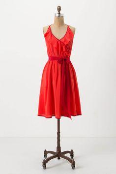 New Anthropologie dress for Summer.