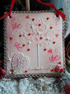 Love Tree Valentine by Teri Pringle Wood