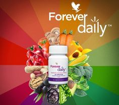 Forever Daily Multivitamin for Optimal Health - Forever Aloe Vera Beauty Health Online Store Forever Living Aloe Vera, Forever Aloe, Vitamin Tablets, Forever Living Business, Chocolate Slim, Daily Vitamins, Forever Living Products, Love Me Forever, Bone Health