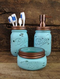 Hey, I found this really awesome Etsy listing at https://www.etsy.com/listing/180270333/turqouise-copper-mason-jar-soap