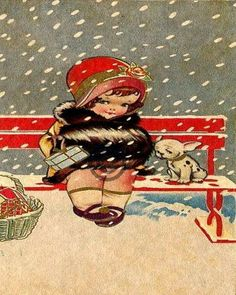Vintage Christmas Images, Christmas Photos, Christmas Decor, Xmas, Christmas Tree, Christmas Puppy, Image Digital, Do It Yourself Home, Vintage Greeting Cards