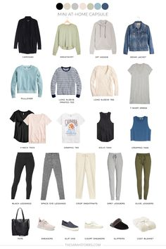 Capsule Wardrobe Women, Mom Wardrobe, Capsule Outfits, Fashion Capsule, Work Wardrobe Essentials, Minimal Wardrobe, Dressing, Lounge Wear, My Style