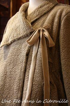 Manteau esprit kimono