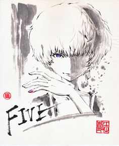 Zankyou no Terror fan art: Five