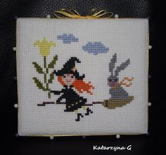 Stitcher: Katarzyna G. (Poland)  - Design: The Snowflower Diaries: Spring Witch 2013
