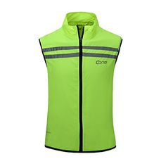 4a4b69ae2 Bpbtti Men s Hi-Viz Safety Running Cycling Vest - Windproof and Reflective  (X-Small