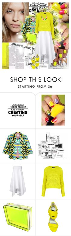 """""""Nail Art"""" by mirmin ❤ liked on Polyvore featuring Prada, Avon, Guide London, Stella Jean, Vellum, PODOLYAN, Topshop, LYDC, t+j Designs and Senso"""