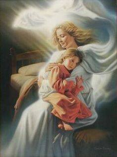 IMAGE OF angels among us | The Lord sends His angels to be among us and protect us.