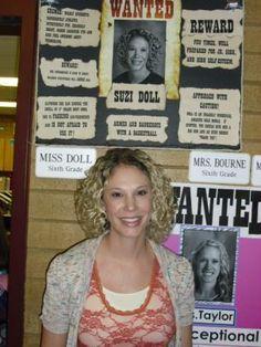 Western Theme Teacher Appreciation Week ideas