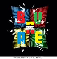 typography t shirt design vector,brave T Shirt Design Vector, Shirt Designs, Design Girl, Print Design, Typographic Design, Typography, Painted Clothes, Toddler Boy Outfits, En Stock