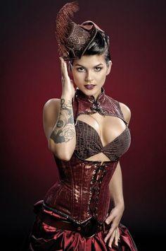 Bloody fantastic looking!   Steam Punk   Girl   tattoo