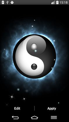 Celebrate the ancient symbol of China with our brand new application ''Yin Yang Live Wallpaper''! It brings you many HD pictures of ''tai chi'' symbol and it is completely free! Discover the meaning of the oriental philosophy, also known as Taoism, and learn how to find balance in your life! Enter the world of wisdom and master the principles of yin and yang theory! Choose from many images of the unique Chinese ''yin yang'' ball, put it on your screen and let your galaxy phone exude peace…