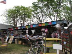 La Adelita, Warrenton, Texas Das Blaue Haus Field, Talaver pottery, crosses, hearts