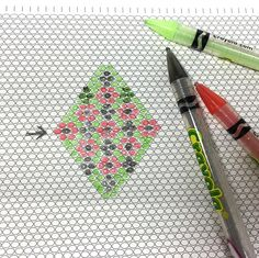 Useful Free Printable Graph Paper for Different Beading Stitches ~ Seed Bead Tutorials