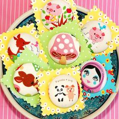 XL large Japanese fabric buttons | Flickr - Photo Sharing!