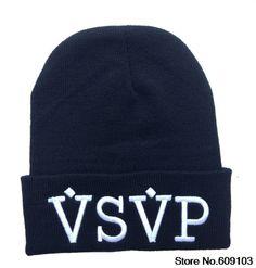 Hip-Hop Unisex VSVP Beanies Wen s Women s Winter knit Cotton wool Hats  Snapback caps 1pcs lot  9.99 187d0475239