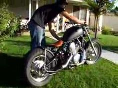 Honda 600 shadow Bobber - I think this is the direction Im headed with my bike. Honda Shadow Bobber, Mean Machine, Bobbers, Motorcycles, Bike, Board, Vehicles, Ideas, Bicycle