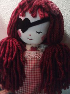 Handmade doll made by me!!