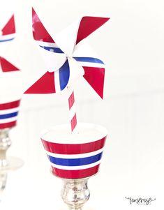 { 17. Mai dessertbord // Inspirasjon // God morgen Norge } – ToneroseDesign Tupperware, Norway, Muffins, Muffin, Tub, Cupcakes