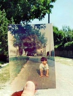 사진합성 발상