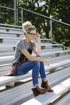 Cute Hipster Outfits For Girls glamhere.com Street Style