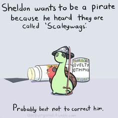 Sheldon The Dinosaur