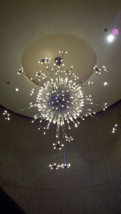 Chandelier at Palm Springs Art Museum