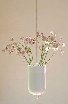 Lotte Douwes Spatial Vase wit White