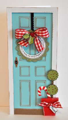 CHRISTMAS FRONT DOOR is part of this weeks cyber monday sale - SALE ENDS 11:59PM 11/3/14