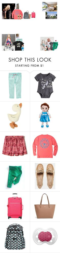 """Friday//packing for cheer worlds and leaving  + lunch with Bella"" by thecollinfamily ❤ liked on Polyvore featuring Disney, Hollister Co., Sperry, Kipling, Kate Spade, Ju Ju Be and gallagherfamily"