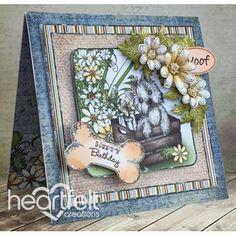 Heartfelt Creations - Birthday Pooch Card Project