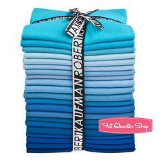 True Blue Kona Cotton Solids