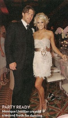 Carrie Underwood reception dress. <3 it.