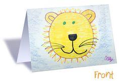 Custom Notecards: PrintArtKids