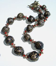 paper mache doodle beads