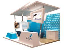 Exhibition Design - Goltens at DUBAI Seatrade 2011 by HafidzMoro Moro at Coroflot.com