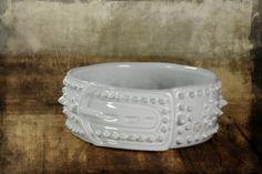handmade pottery dog bowl dishwasher-microwave-oven safe like our Facebook page for details