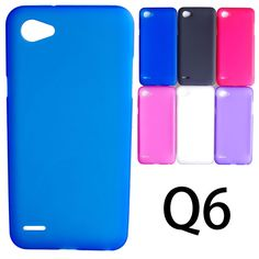 UVR Matte Soft TPU Gel Case For LG Q6 Case Dual SIM For LG Q6 Cover Mobile Phone Cases Free Shipping Q 6
