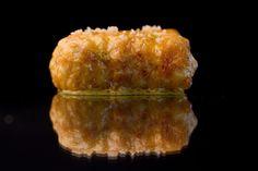 Merluza frita con piel de lima