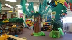 The  Great Kapok Tree  rainforest in the classroom