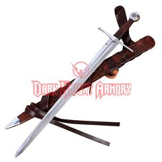 Norman Sword With Scabbard and Belt - DS-1307B from Dark Knight Armoury