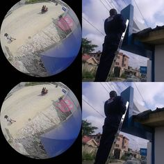 We give you what is not common... See our 360 view outdoor camera view.  It comes with sound It's wireless It can be viewed on all mobile devices remotely. It's waterproof Lighting can't after it. It's display is sharp. .... Security is a necessity.  #lagos #ikoyi #lekki #admiratlyway #bananaisland #nicontown #ibejulekki #magodo #ikeja #aja #abuja #safetyfirst #interior #deco #homedeco #homesecurity #nanny #fuel #ajah #9ja #9jaonlinefashion #naija #naijahomesandinteriors #bellanaijaweddings…