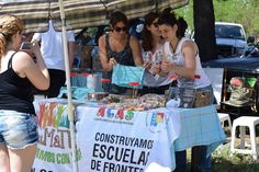 El pasado sábado 14 estuvieron presentes con su kiosco de cosas dulces en la 4ta Destreza organizada por el Centro de Estudiantes de Agronomía.