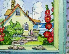 Storybook Cottage Series Beachside Neighbors   Flickr - Photo Sharing!